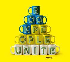 Reading is fundamental: Book people unite. Design Case, Web Design, Graphic Design, Book People, Restaurant Branding, Visual Identity, Brand Identity, Mug Designs, Literacy
