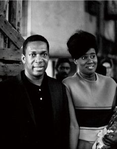 """""""It was so interesting, when John [Coltrane] created A Love Supreme. He had meditated that week. I almost didn't see him downstairs. And it was so quiet! There was no sound, no practice! He was up there meditating, and when he came down he said, """"I. Jazz Artists, Jazz Musicians, Music Artists, Alice Coltrane, A Love Supreme, Hard Bop, Free Jazz, Soul Songs, Jazz Funk"""