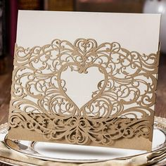 Cheap Laser Cut Wedding Invitations Check More Image At  Http://bybrilliant.com