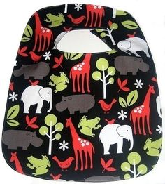 Zoo Animals Bib