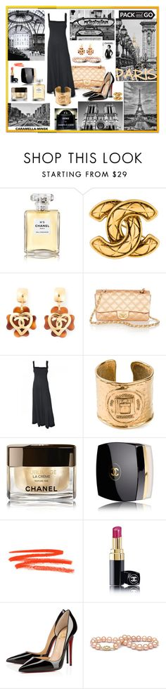 """""""""""A Moveable Feast"""" ( Ernest Hemingway)."""" by caramella-minsk ❤ liked on Polyvore featuring Chanel and Christian Louboutin"""
