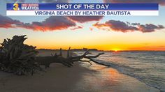 SHOT OF THE DAY: Which are better in Hampton Roads... our sunrises or sunsets?