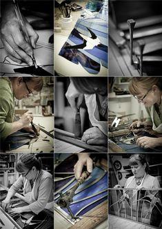 Made Not Manufactured. Photographer Steve Kenward documenting British craftspeople.