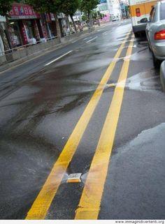 Ci sono le strade autopulenti in Corea del sud