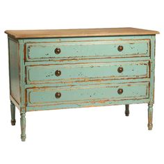 love the color of this dresser