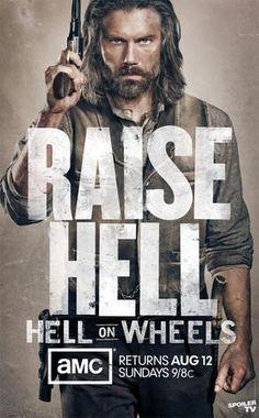 Hell on Wheels, Season 2 Poster