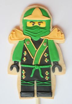 Cookies at a Ninjago Party #ninjago #partycookies