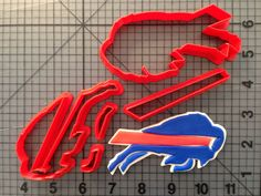 Buffalo Bills Cookie Cutter Set by JBCookieCutters on Etsy