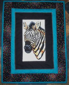 The Majestic Zebra This stately wall hanging appeals by OurQuilts, $10.00