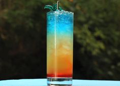 This Paradise Cocktail is Crazy-Cool Looking, Also Delicious