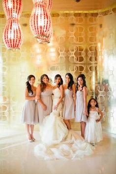 lilac bridesmaid dresses, photo by megruth.com