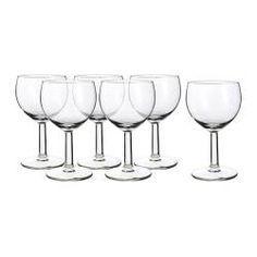 $4 for 6 Glassware & pitchers - Glasses & Wine glasses - IKEA