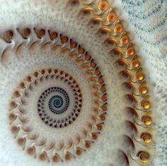 Posthorn Whirligig by Pharmagician Digital Art / Fractal Art©2009-2014 Pharmagician