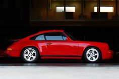 Perfection. Check out the paint on this Ruf Porsche 911. (Click on photo for larger image.)