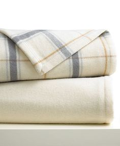 Berkshire Blanket, Wool Collection - Blankets & Throws - Bed & Bath - Macy's