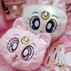 Cute sailor moon Luna Cat shoulder bags on Girly girl to Alice