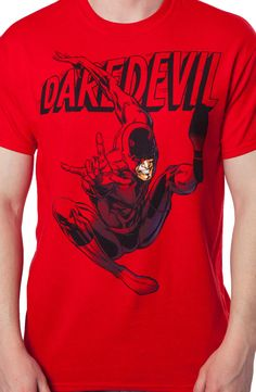Daredevil T-Shirt: Super Heroes Marvel Comics Daredevil Shirt