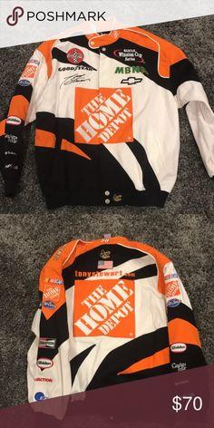 3512da4d8 Tony Stewart race jacket Home Depot racing jacket size xl Jackets & Coats  Performance Jackets Tony