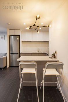 공간마다 특색 있는 복도식 아파트 작은집 꾸미기 : 25평 거실 인테리어 : 네이버 블로그 Interior, Kitchen, Table, House, Furniture, Country, Home Decor, Cooking, Decoration Home