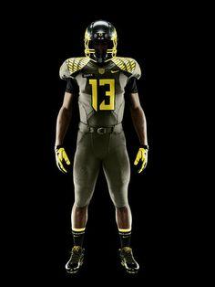 NIKE, Inc. - Oregon Ducks Spring Game Uniforms Honor Service Men and Women NCAA Football