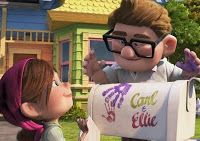 "Plan on making a mailbox like in the ""Up"" movie to collect cards at the wedding reception"