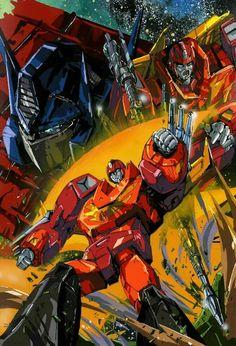 Optimus & Rodimus Prime