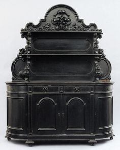 A McCrackin sideboard, New Orleans, 19th century