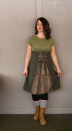 medium Large Romantic upcycled clothing by lillienoradrygoods, $64.50