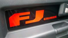 new sticker decals made up for the FJ