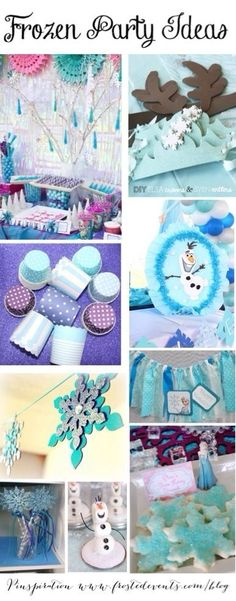 frozen themed birthday party   photo sources http www pinterest com frostedevents theme disney frozen