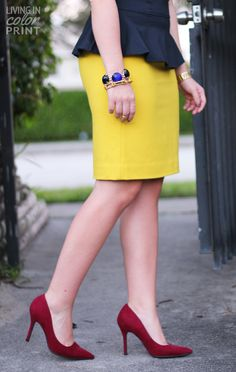 Living In Color Print | Personal Fashion + Lifestyle Blog by Kristin Clark | Page 4