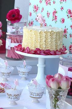 Little Big Company | The Blog: Gorgeous 2nd Birthday - A Sweet Birdy Tea Party theme styled By Ruby May Designs