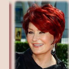 Love Sharon Osborne's hair.