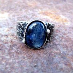 Prsten - kyanit