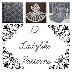 Fan's of Pride and Prejudice will appreciate this round-up of ladylike crochet afghan patterns.