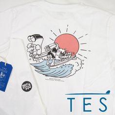 TES エンドレスサマー TES x 鉄腕アトム 手塚治虫 コラボTシャツ FH-1574602 【半袖Tシャツ】 【メール便可】 -JOE-