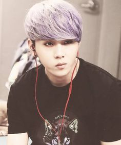 junhyung #B2ST Love his hair ;D