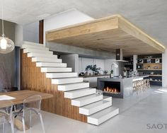 Professionals in staircase design, construction and stairs installation. In addition EeStairs offers design services on stairs and balustrades.Check out our work >> Deco Design, Küchen Design, House Design, Design Elements, Design Ideas, Architecture Design, Architecture Interiors, Sustainable Architecture, Wood Interior Design