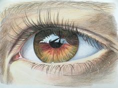 Eye by Bettina Haakonsson - Colorpencil