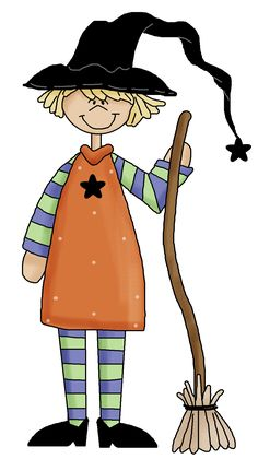 kids witch clip art - Google Search