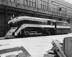 symmetrain:  Frisco Lines: Streamlined Locomotive 1026 Description:Built by Baldwin in 1910. As streamlined by SLSF 1939. Builder's Number 34211. Engine 1026. Firefly train. Steam engine. ¾ view.Source:7 x 11inch black and white photographDate Original:1939Creator:Howard DayContributor:UnknownLocation:Unknown