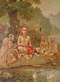 Jnana Yoga, Bhakti Yoga, Bhagavad Gita, Om Namah Shivaya, Yoga Sutra, Raja Ravi Varma, Saints Of India, Indian Saints, Advaita Vedanta