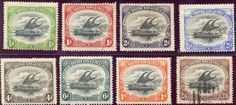 File:Stamps of British New Guinea Lakatoi Postage Stamps, Ships, British, Boats, Stamps, England