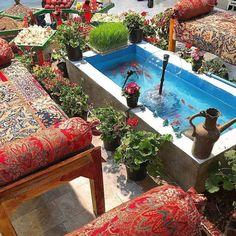 Persian Backyard