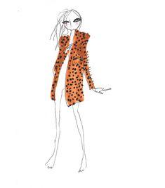 Balmain leopard coat by Gattobravo Miao