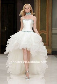 Aurye Mariages Paris 2010 Bridal Gown Collection - The shorts ...