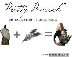"""DIY Peacock Baby?Toddler Halloween Costume"" by mammasmilk on Polyvore"