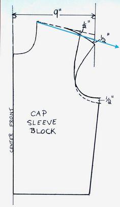 Artsybuildinglady: Como hacer Una camiseta del patrón de la manga casquillo