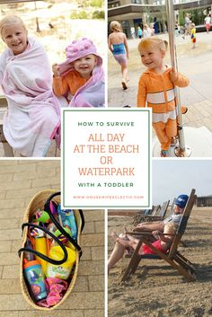 Housewife Eclectic: How to Survive All Day at the Beach or Waterpark with a Toddler