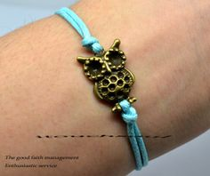 Little owl bracelet fashionable lovely owl owl owl by itouchsoul, $1.59